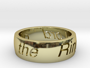 My Precious in 18k Gold Plated Brass: 11 / 64
