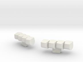 1/87 Lightbar #13 in White Strong & Flexible
