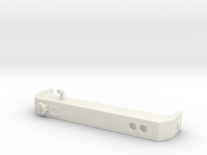 1/87 Spartan Bumper #4 in White Natural Versatile Plastic