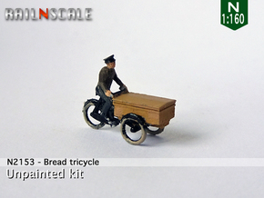 Bread tricycle (N 1:160) in Frosted Extreme Detail
