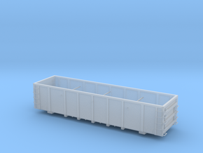 FCA Aggregate Gondola - HOscale in Smooth Fine Detail Plastic