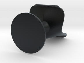 Miniature Tulip Chair - Eero Saarinen in Black Hi-Def Acrylate: 1:12