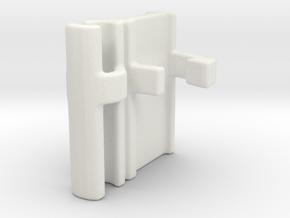 3dWordFlip: ✝/⚓ in White Strong & Flexible