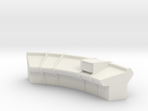 Console Type 15 (Star Trek) in White Natural Versatile Plastic: 1:30