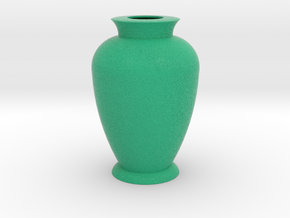 Flower vase 3 in Full Color Sandstone