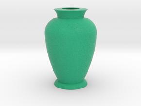 Flower vase 3 in Full Color Sandstone