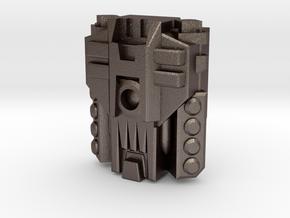 Mega Powermaster Engine, Metal (Titans Return) in Polished Bronzed Silver Steel