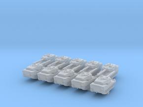1/600 British VFM Mk.5 Light Tank x10 in Smoothest Fine Detail Plastic