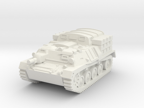 1/144 AT-P Soviet artillery tractor in White Natural Versatile Plastic
