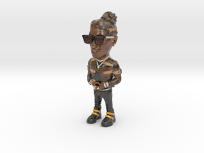 Young Thug in Glossy Full Color Sandstone