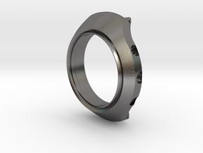 Seiko Helmet Redux Case Only in Polished Nickel Steel