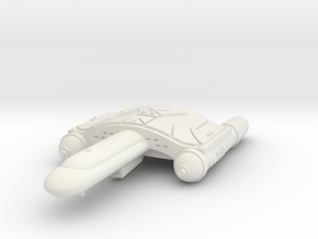 3125 Scale Romulan SkyHawk-L Destroyer Leader WEM in White Natural Versatile Plastic