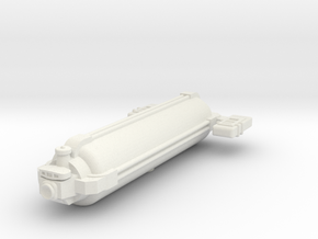 Omni Scale General Small Freighter (Class-I) SRZ in White Strong & Flexible