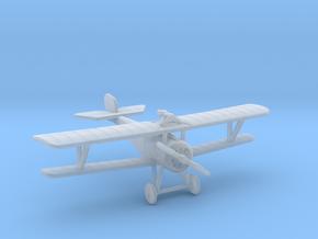 Nieuport 17 (Vickers + Lewis) in Smooth Fine Detail Plastic: 1:144