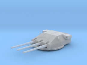 """1/350 DKM Gneisenau Turrets 28cm (11"""") 1936 in Frosted Ultra Detail"""