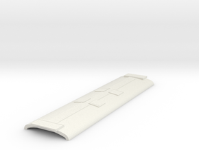 MRC Roof 4 small 2 large hatches in White Natural Versatile Plastic