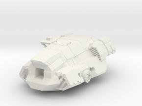 FanArt Battletech Marauder -  Torso in White Natural Versatile Plastic: 1:60