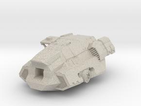 FanArt Battletech Marauder -  Torso in Natural Sandstone: 1:60