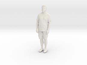 Printle C Homme 848 - 1/24 - wob in White Natural Versatile Plastic