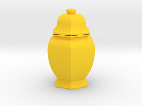 URN 0.8mm Combined in Yellow Processed Versatile Plastic