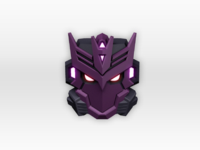 Tarn Faceplate for Titans Return in White Processed Versatile Plastic