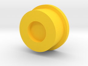 Kmods Blocks Squonker Button in Yellow Processed Versatile Plastic
