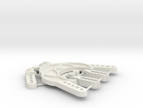 TC02C EVO AZ ALLOY CHASSIS HARDWARES 21th June 17 in White Natural Versatile Plastic