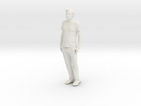 Printle C Homme 803 - 1/24 - wob in White Natural Versatile Plastic