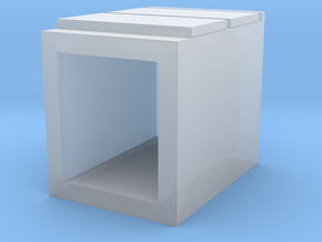 Miniature Malm 2 Drawers - IKEA in Smooth Fine Detail Plastic: 1:35