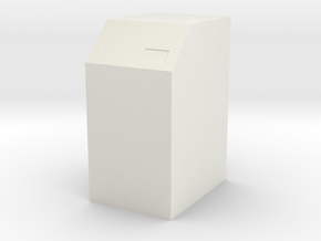 Command Desk Type 2 S1 and S2 (Space: 1999) 1/30 in White Natural Versatile Plastic