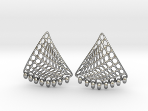 Baumann Earrings in Natural Silver