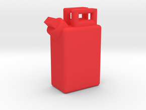 1:35 GAS/WATER TANK in Red Strong & Flexible Polished: 1:35