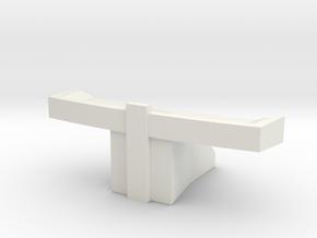Console Type 11 (Star Trek) in White Natural Versatile Plastic: 1:30