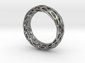 Trous Ring Sz 13 in Natural Silver