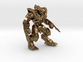 1/60 Protoss Zealot in Natural Bronze