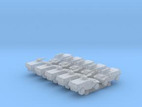 1/700 French Panhard VBR AFV x10 in Smoothest Fine Detail Plastic