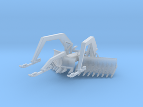 1/87 Scale M1 ABV Mine Plow in Smooth Fine Detail Plastic