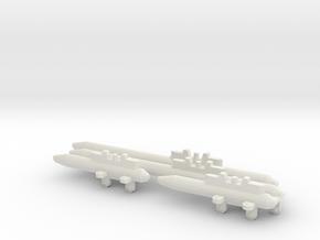 AMM 101 Pylons in White Natural Versatile Plastic