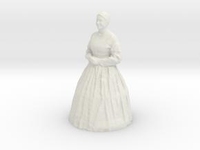 Printle C Femme 618 - 1/87 - wob in White Natural Versatile Plastic