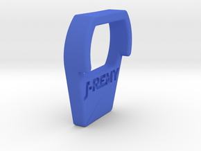 Flysky GT3B Power Button Guard and Protector in Blue Processed Versatile Plastic
