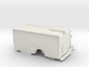 1/87 Rescue/Command body in White Natural Versatile Plastic