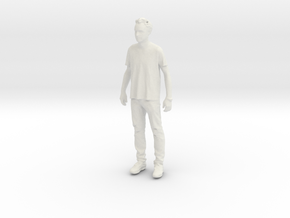 Printle C Homme 838 - 1/24 - wob in White Strong & Flexible
