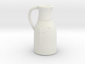 Printle Thing Milkpot - 1/24 in White Natural Versatile Plastic