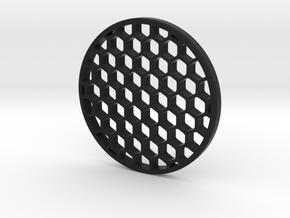 Honeycomb KillFlash 57mmD 5.9mmClearance 5mmT 1.2m in Black Natural Versatile Plastic