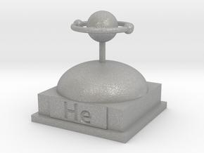 Helium Atomamodel in Aluminum