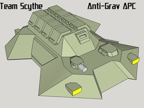 """Team Scythe"" 3mm Anti-Grav APC Pack (24pcs) in Smooth Fine Detail Plastic"