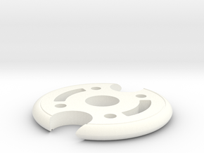 Birdarang in White Processed Versatile Plastic