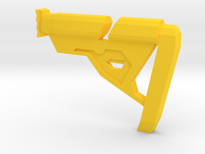 Insanity Shoulder Stock in Yellow Strong & Flexible Polished