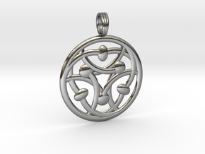MYSTIC TELEPATHY in Fine Detail Polished Silver