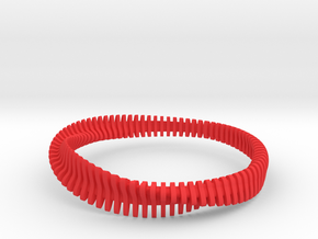 Bracelet Sections in Red Strong & Flexible Polished